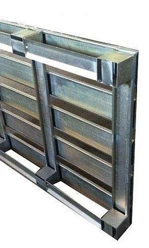 Fabricante de pallet de aço