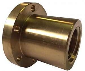 porca de bronze