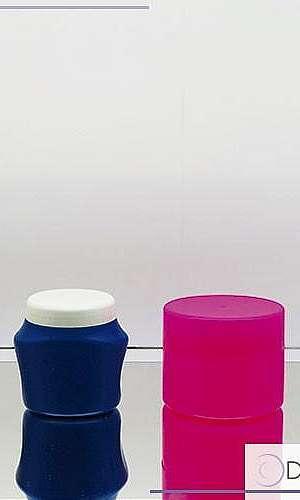Pote de plastico com tampa 250ml
