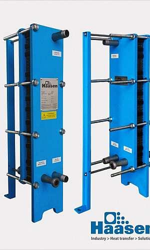 Trocador de calor placa de titanium