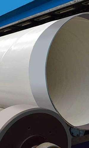 Tubo de aço helicoidal